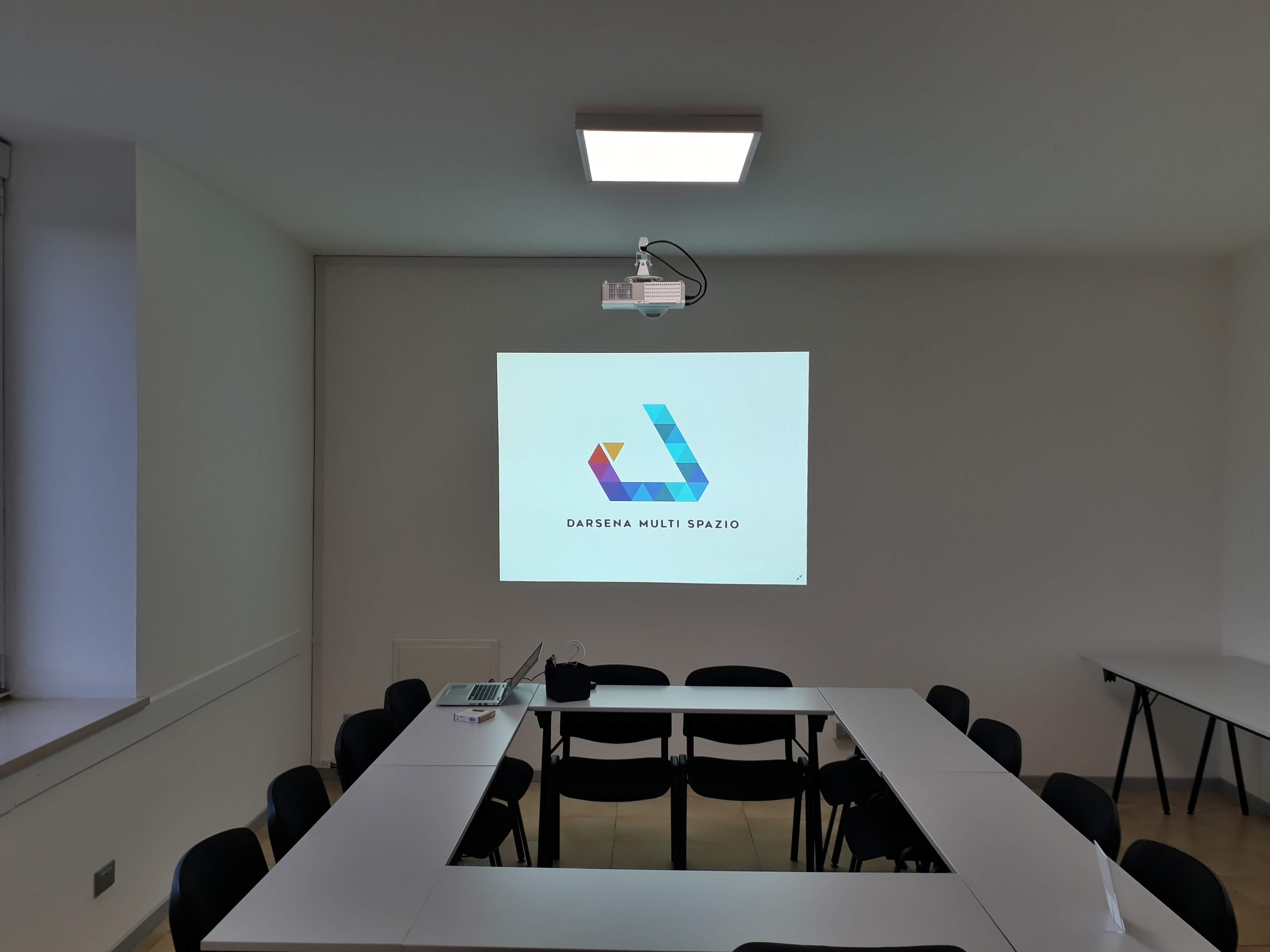 Sala riunioni presso Darsena Multi Spazio a Ravenna