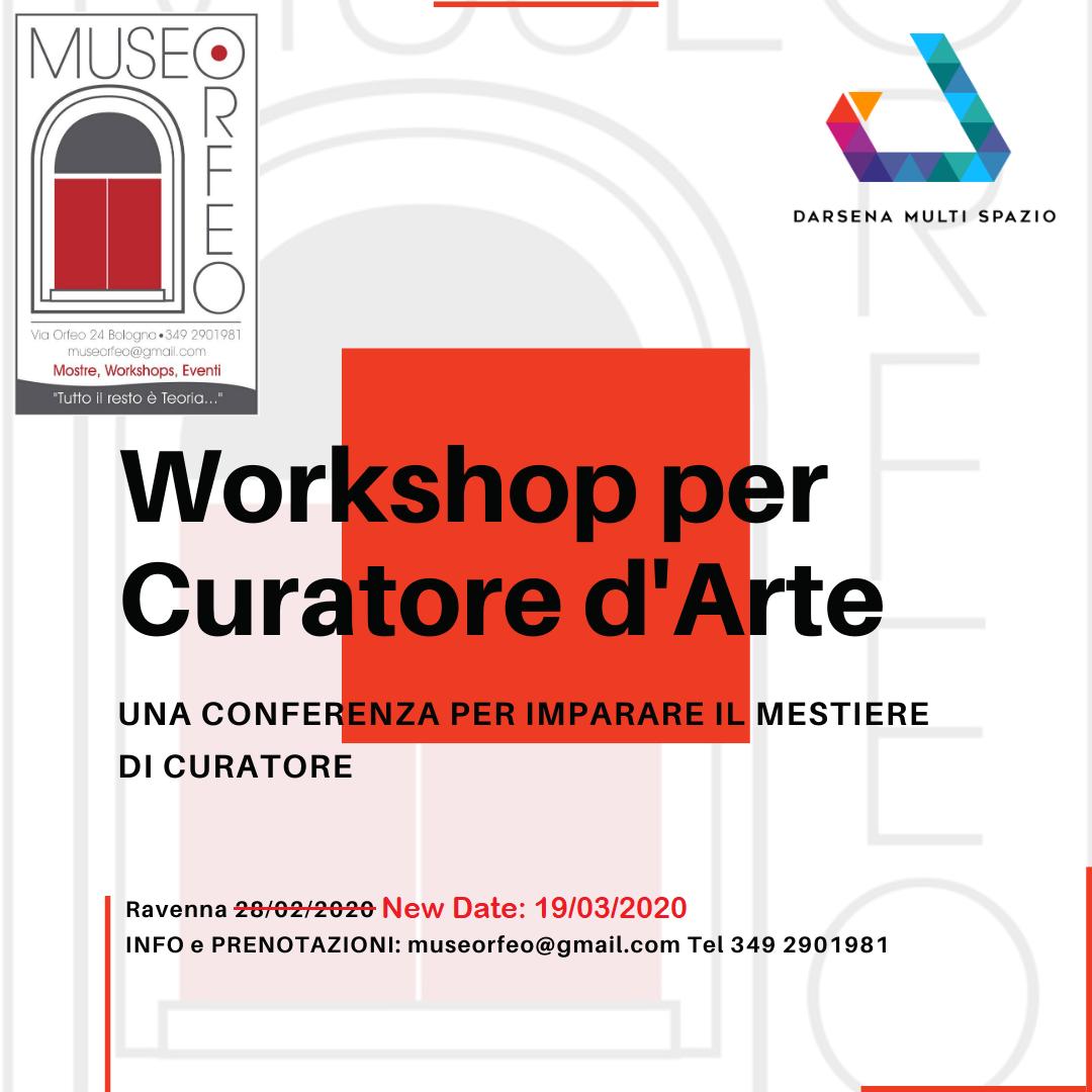 Darsena Multi Spazio, eventi ed iniziative: corso per curatore d'arte Museorfeo Serenarte