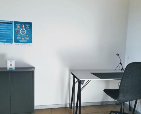 Darsena Multi Spazio a Ravenna - postazioni lavorative distanziate per smartworking
