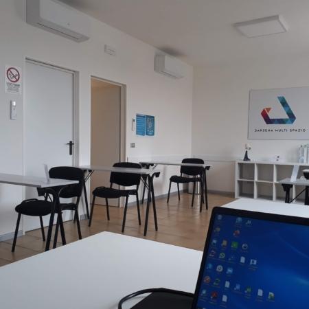 Darsena Multi Spazio - postazioni lavorative distanziate per corsi e smart working a Ravenna