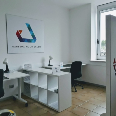 Darsena Multi Spazio - postazioni lavorative distanziate per smart working a Ravenna