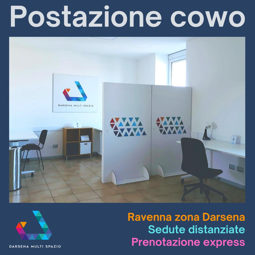 Darsena Multi Spazio - postazioni coworking a Ravenna